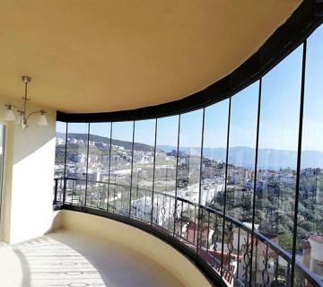 Балконная система со стеклопакетом
