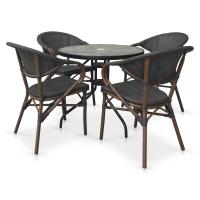 Комплект мебели для кафе TLH-087-D80/D2003S 4Pcs