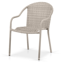 Плетеное кресло AFM-318G-Light Grey