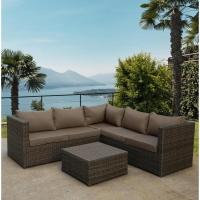 Комплект плетеной мебели  YR825A Brown/Beige