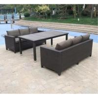 Комплект плетеной мебели T347/S65A-W53 Brown