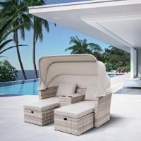 Комплект плетеной мебели AFM-330G Grey