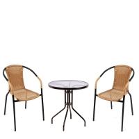 Комплект мебели  Асоль-1CLB TLH-037С-TLH060-D60 Light Beige