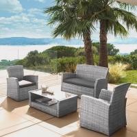 Комплект мебели с диваном AFM-405B Grey