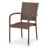 Плетеный стул Y376B-W773 Brown