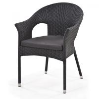 Кресло плетеное Y97A Black