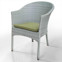 Плетеное кресло WS2907W White