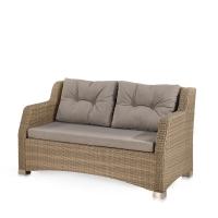 Плетеный диван S51B-W65 Light Brown