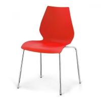 Стул пластиковый SHF-01-R Red