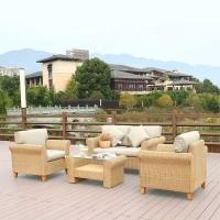 Комплект мебели с диваном AFM-4018A Beige