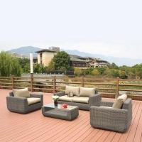 Комплект мебели с диваном AFM-4018B Grey