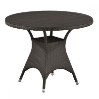 Плетеный стол T190AD-W52-D96 Brown